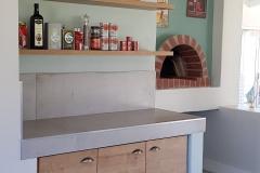 JFS Interiors_Wood kitchen shelves