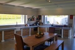 JFS Interiors_Farm Kitchen with view